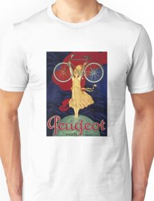Vintage Bicycle Advertising Poster Unisex T-Shirt