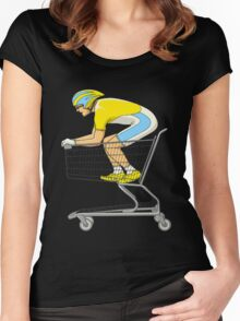 Retail Racer Women's Fitted Scoop T-Shirt