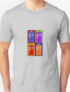 TARDIS Pixelart Unisex T-Shirt