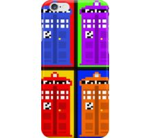TARDIS Pixelart iPhone Case/Skin