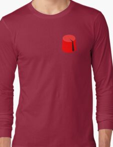 Red Fez of the Moors | Moorish American Clothing Long Sleeve T-Shirt