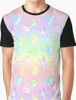Forest Fairy Fun Graphic T-Shirt