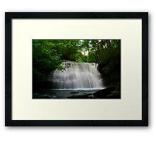 Lower Little Stony Falls Framed Print