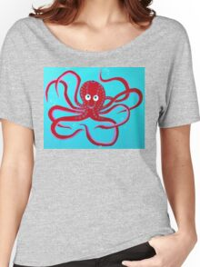Rob Gamble's Octopus copy right 2015 Women's Relaxed Fit T-Shirt