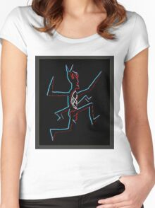 eXo-ANT  [ NeoN ] Women's Fitted Scoop T-Shirt