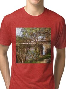 Down by the Goulburn Seymour Vic Australia Tri-blend T-Shirt