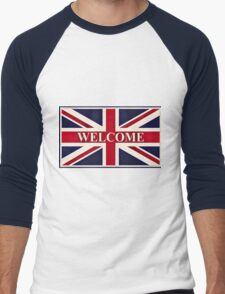 Union Jack 578 Men's Baseball ¾ T-Shirt