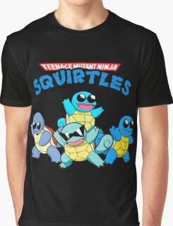 Teenage Ninja Mutant Squirtles  Graphic T-Shirt