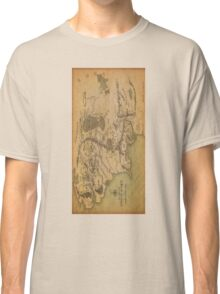 Middle Earth Map Classic T-Shirt