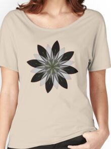 Rosette Mandala Women's Relaxed Fit T-Shirt
