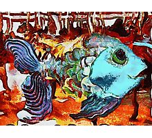 Childhood Dreams II: Swimming With the Fishes Photographic Print