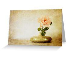 Vintage Rose - JUSTART © Greeting Card
