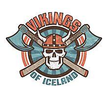 viking skull Photographic Print