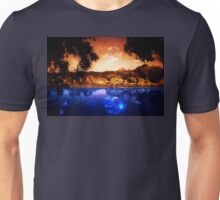 Night Forest and River Unisex T-Shirt