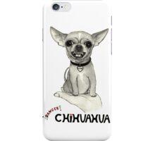 Danger, chihuahua. iPhone Case/Skin