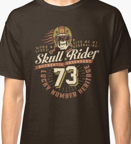 Grunge racer logo Classic T-Shirt