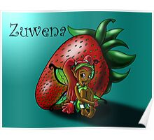 Strawberry Fairy Zuwena Poster