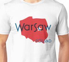 Warsaw Poland Unisex T-Shirt