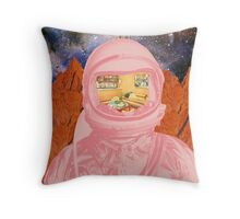 Home Sick Throw Pillow