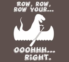 Row, row, row your... ooohhh... right. kids funny t-shirt Baby Tee