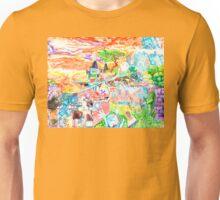 Rob Gamble's Strange Land Dip-tic B copy right 2015 Unisex T-Shirt