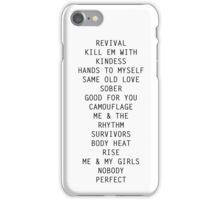 Revival Tracks iPhone Case/Skin