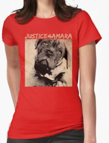 JUSTICE4AMARA Womens Fitted T-Shirt