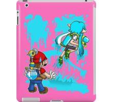 Super Mess - (Aqua) iPad Case/Skin