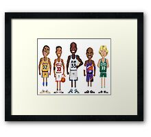 TRUE LEGEND Framed Print