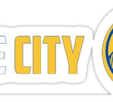WARRIORS THE CITY Sticker