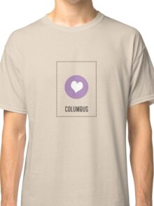 I Love Columbus Classic T-Shirt