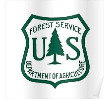 United States Forest Service logo Poster