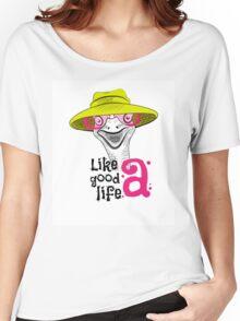 head ostrich good life Women's Relaxed Fit T-Shirt