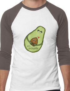 Let's Avocuddle Men's Baseball ¾ T-Shirt