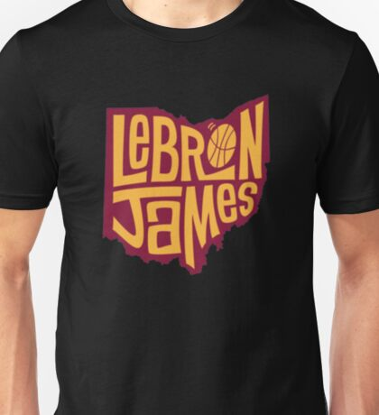 lebron the king james Unisex T-Shirt