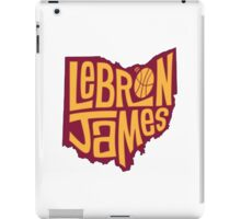 lebron the king james iPad Case/Skin