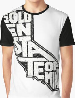 GOLDEN STATE OF MIND Graphic T-Shirt