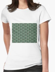 Goyard Perfect Case green Womens Fitted T-Shirt