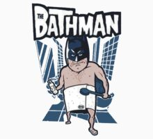 The Bathman (Incredible super hero with washing superpowers) Kids Clothes