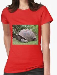 Tortoise 2 Womens Fitted T-Shirt