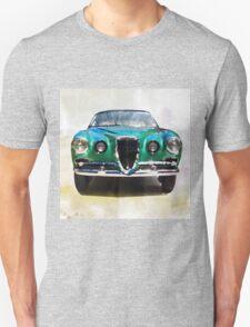 Vintage Supercar Watercolor Unisex T-Shirt