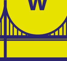GOLDEN STATE OF MIND WARRIORS Sticker