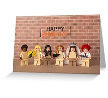 Orange is the New Black themed Birthday Card Greeting Card
