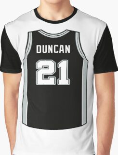 DUNCAN IS SPURS Graphic T-Shirt
