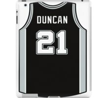DUNCAN IS SPURS iPad Case/Skin