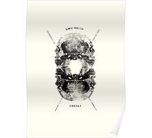 Double-Faced People Poster