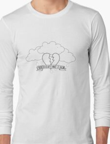 Broken Hearts Make It Rain Long Sleeve T-Shirt