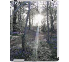 Bluebell Woods iPad Case/Skin