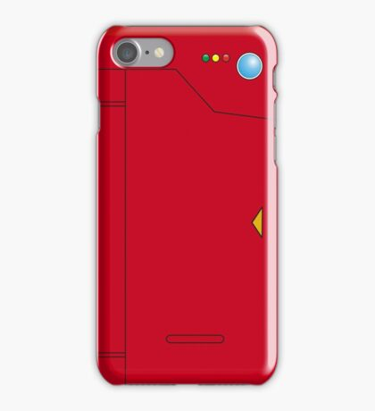 pokedex pocket monster iPhone Case/Skin