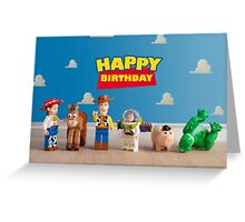 Toy Story themed Birthday Card Greeting Card